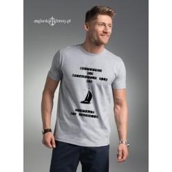 Koszulka męska Wszystko co wydarzyło się na jachcie....