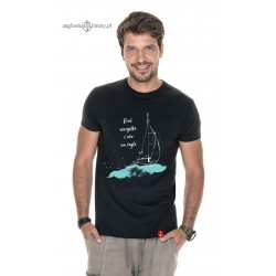Koszulka męska premium strech CHO na żagle :-)