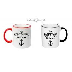 Kubki Pan Kapitan i Pani Kapitanowa- z imionami :-)