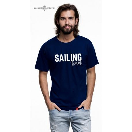 Koszulka męska premium strech SAILING TEAM