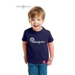Koszulka dziecięca premium Optimistycznie (od 1 do 14 lat)