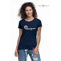 Koszulka damska premium strech Optimistycznie :-)