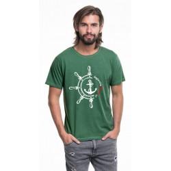 Koszulka męska melange STER - Żeglarskie Klimaty