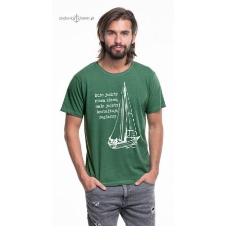 Koszulka męska melange Małe jachty... (3D)