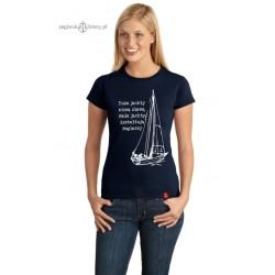 Koszulka damska Cała naprzód!