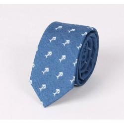 Bawełniany krawat RYBY :-)