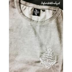 Koszulka męska vintage - haft SAILING