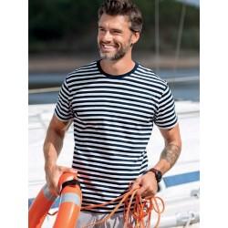 Koszulka unisex w marynarskie paski :-)