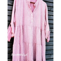Lużna sukienka w paseczki :-)