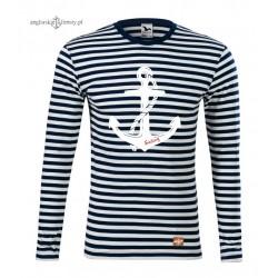 Koszulka w marynarskie paski SAILING (długi rękaw)