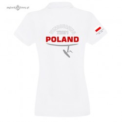 Polo damskie WINDSURFING TEAM POLAND