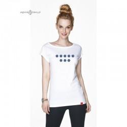 Koszulka damska biała 8 kół sterowych :-)
