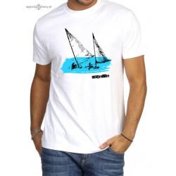 Koszulka męska premium strech biała REGATTA