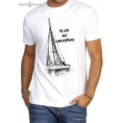Koszulka męska Plan na emeryturę (100% organic cotton)