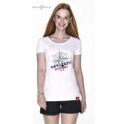 Koszulka damska premium strech NAVIGARE :-)