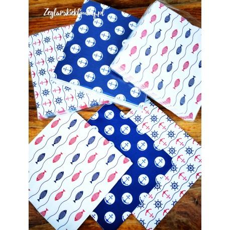 Serwetki papierowe - 3 morskie wzory :-)