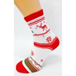 Skarpety damskie - świąteczne :-)