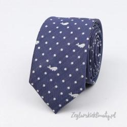 Krawat w delfiny :-)