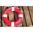Personalizacja na kole ratunkowym - usługa